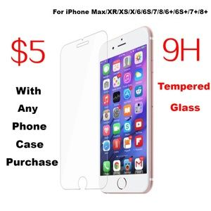 Accessories - NEW iPhone 9H Tempered Glass Screen Protector